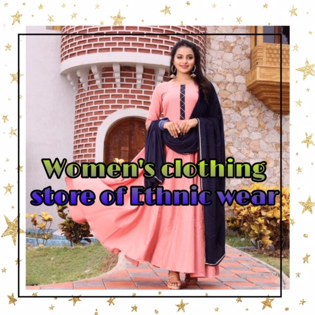 Women's clothing store of ethnic wear collection