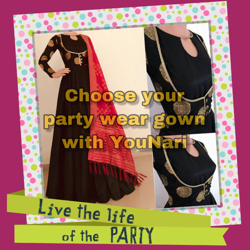 How to choose party wear gown collection
