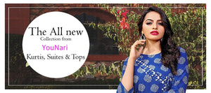 Kurtis, gowns, dresses collection banner