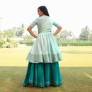 cotton kurta and skirt