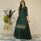 Ready to wear Apple green dress younari