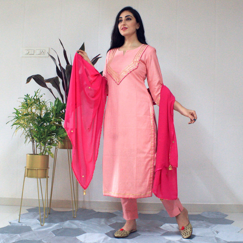 Ready to wear Flamingo suit set