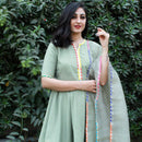 Multi flex cotton sharara kurta with dupatta