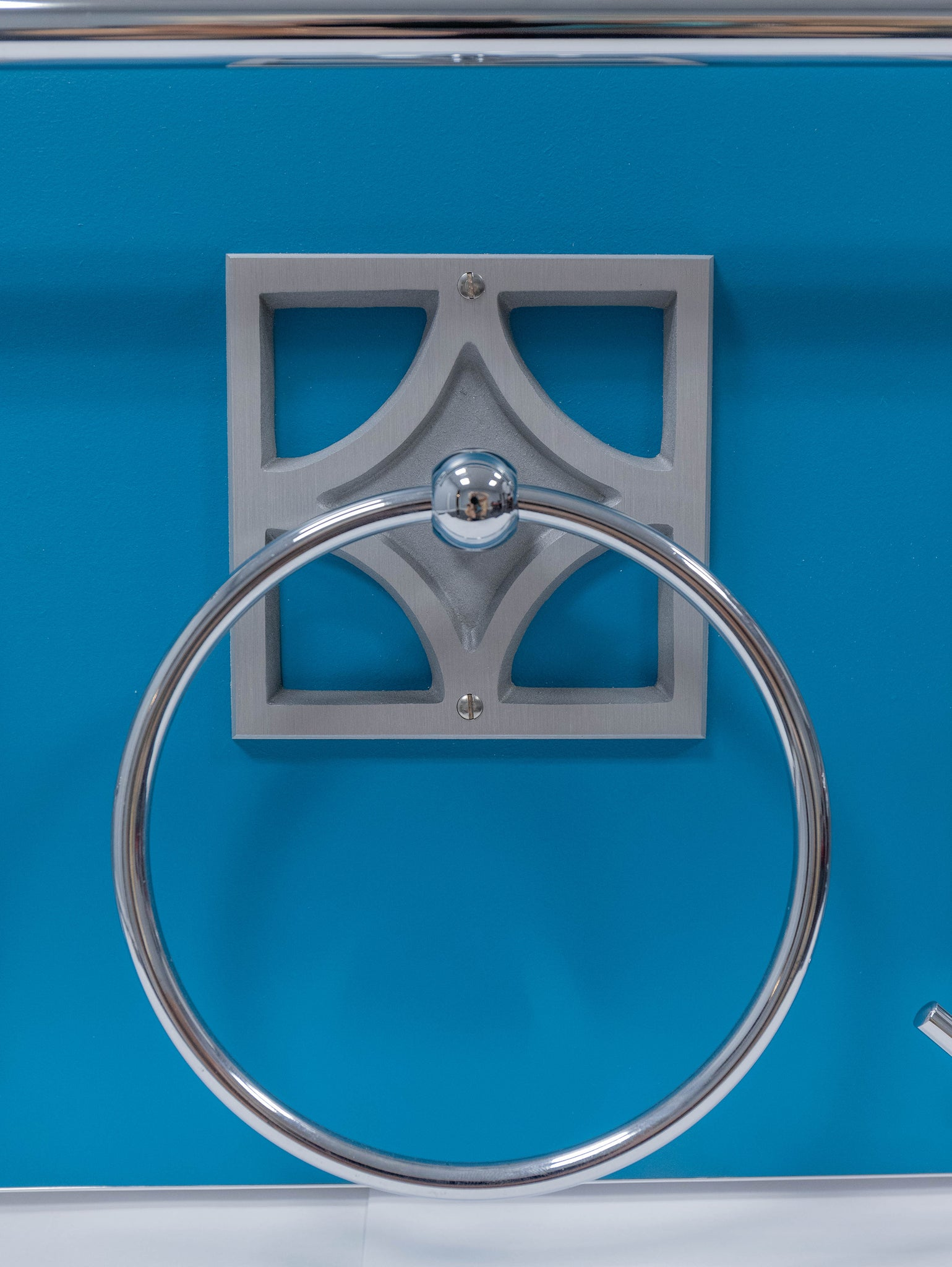 Breeze Block Towel Ring