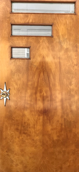 Atomic Starburst Doorknob Backplate Escutcheon