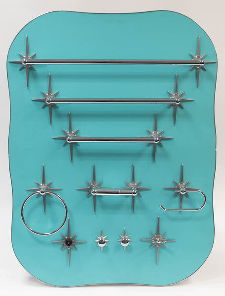 Atomic Starburst Mid Century Towel Bar