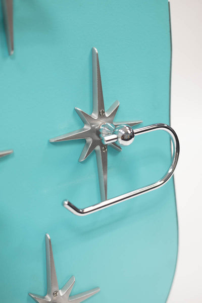 Atomic Starburst European Style Toilet Paper Holder