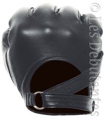 Strap Leather Driving Gloves