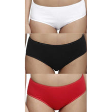 T.T. Womens Desire Hipster Pack Of 3 Multi-1