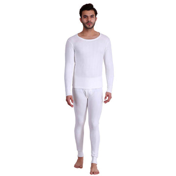 T.T. Men Hotpot Elite Thermal Set- White