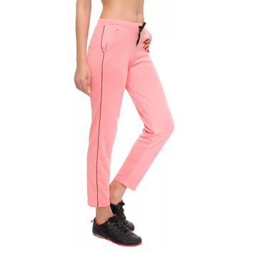 T.T. Womens Pink Track Pant