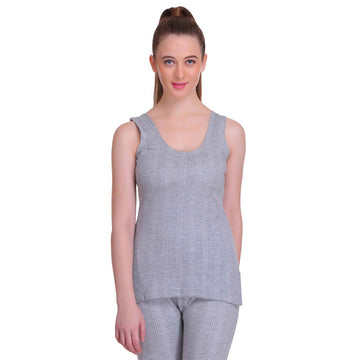 T.T. Women Hotpot Elite Top Thermal - Grey Melange