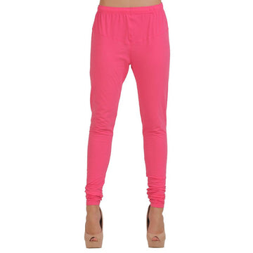 T.T. Women Churidar Leggings Fushia