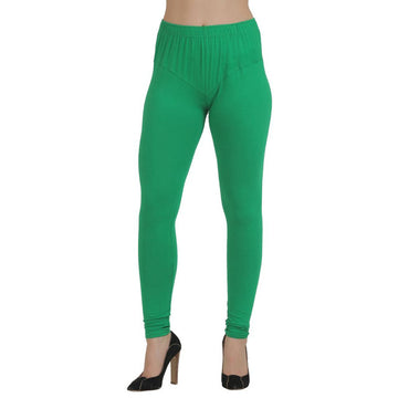 T.T. Women Churidar Leggings GREEN