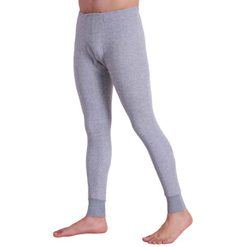 T.T. Men Pyjama Thermal - Grey Melange