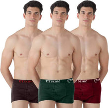 T.T. Mens Desire Fashion Trunk Trunks Pack Of 3