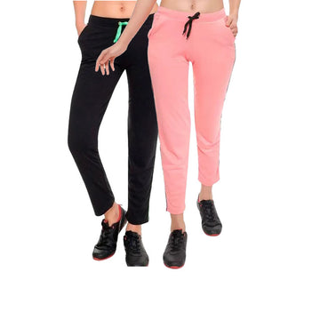 T.T. WOMENS TRACK PANT PACK OF 2