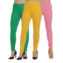 T.T. Women Churidar Legging Pack of 3