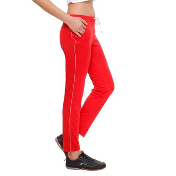 T.T. Womens Red Track Pant