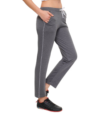 T.T. Womens Grey Track Pant
