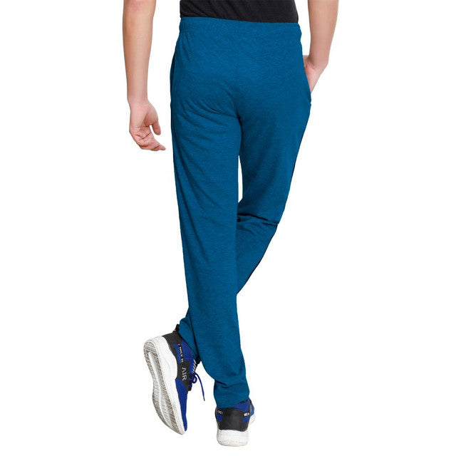 T.T. Men Cotton Track Pants - Air Force Blue