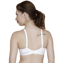 T.T. Women Cotton Bra Pack Of 3 White