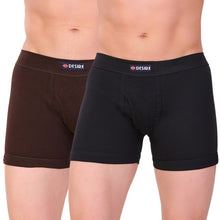 T.T. Men Desire Flexi Trunk Solid Pack Of 2 Assorted Colors