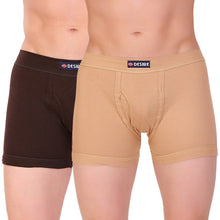 TT Men DESIRE FLEXI Trunk Solid Pack of 2  assorted Colors