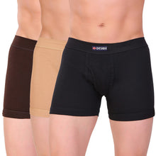 T.T. Men Desire Flexi Trunk Solid Pack Of 3 Assorted Colors