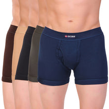 T.T. Men Desire Flexi Trunk Solid Pack Of 5 Assorted Colors