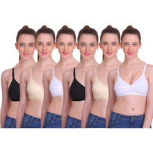 T.T. Womens Desire Bra Pack Of 6 Assorted
