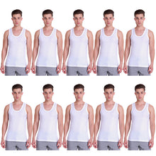 T.T. Mens Desire Vest Pack Of 10 Assorted