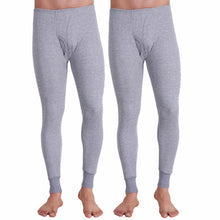 T.T. Men Hotpot Elite Pyjama Thermal Pack Of 2- Grey Melange