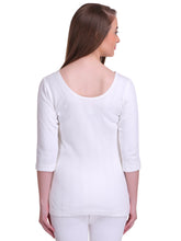 T.T. Women Hotpot Elite 3/4th Slip Thermal - White