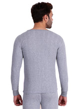 T.T. Men Hotpot Elite Thermal Set-Grey Melange