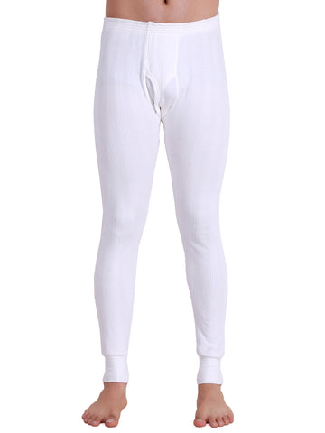 T.T. Men Hotpot Elite Pyjama Thermal - White