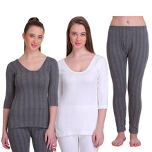 T.T. Women Thermal Top And Pyjama (Pack of 3)