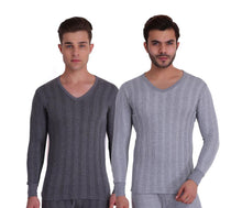 TT Men Top Thermal Anthra - Grey Melange (Pack of 2)