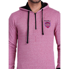 Hiflyers Full Sleeve Solid Men Sweatshirt - Purple