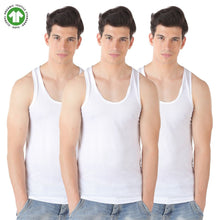HIFLYERS MEN ORGANIC COTTON VEST (PACK OF 3)