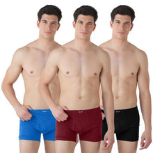 T.T. Men Jazz Ie Trunks Pack Of 3 Multicolor