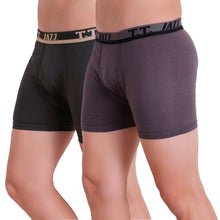 T.T. Men Jazz TE Trunk Pack of 2 (Anthra - Grey)