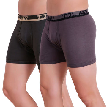 TT Men Jazz Pack of 2 (Anthra - Grey)