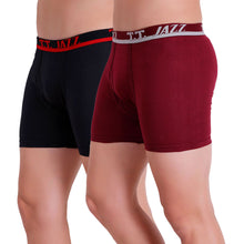TT Men Jazz Pack of 2 (Black - Red)