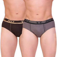 T.T. Men Jazz Brief Solid Pack Of 2 Assorted Colors