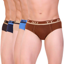T.T. Men Jazz Brief Solid Pack Of 5 Assorted Colors