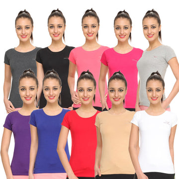 HiFlyers Womens T-Shirt Pack of 10 Assorted