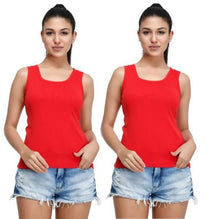 T.T. Women TankTop Red