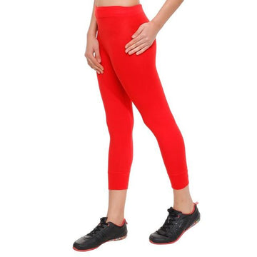 HiFlyers Women Yogawear Casual Capri Red