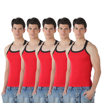 T.T. Mens Gym Vest pack of 5